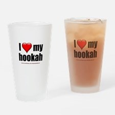 """Love My Hookah"" Drinking Glass"