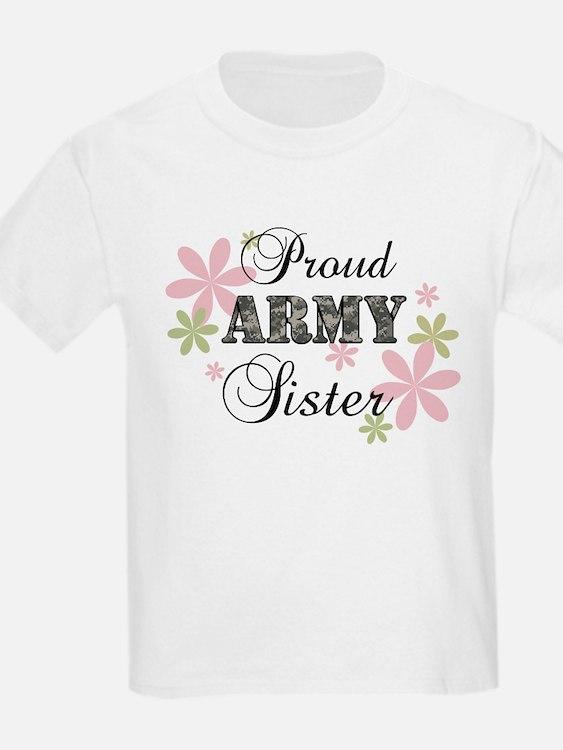 Army Sister [fl camo] T-Shirt