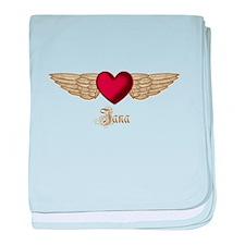 Jana the Angel baby blanket