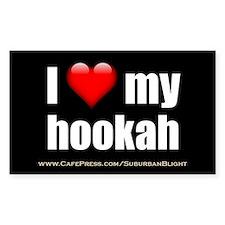 """""""Love My Hookah"""" Decal"""