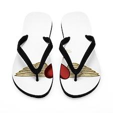 Janelle the Angel Flip Flops