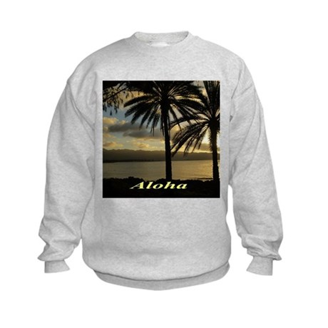 Sunset North Shore Oahu Sweatshirt