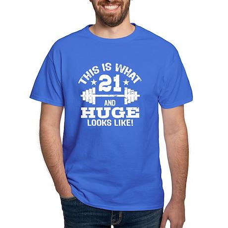 Funny 21 Year Old Dark T-Shirt
