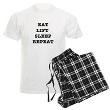 EAT LIFT SLEEP REPEAT Pajamas