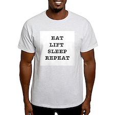 EAT LIFT SLEEP REPEAT T-Shirt