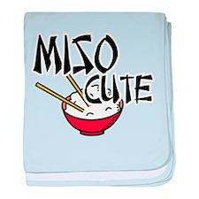 Miso Cute baby blanket