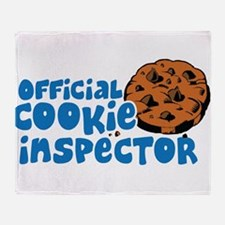 Official Cookie Inspector Throw Blanket