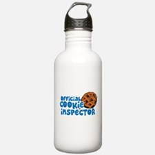 Official Cookie Inspector Water Bottle