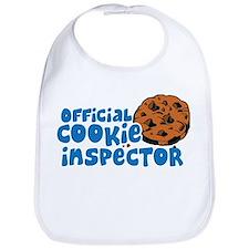 Official Cookie Inspector Bib