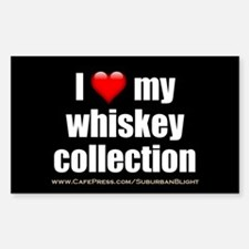 """""""Love My Whiskey Collection"""" Decal"""