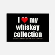 """""""Love My Whiskey Collection"""" Rectangle Magnet"""