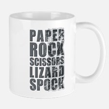 paper rock scissors lizard spock Mug