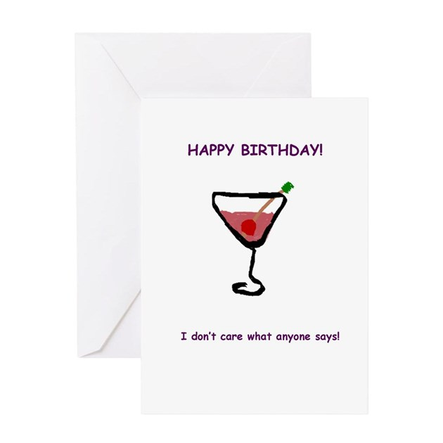 Birthday Insult Greeting Card By WarpedGreetings