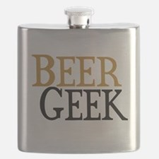 Beer Geek Flask
