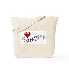 Lost - I heart Sawyer Tote Bag