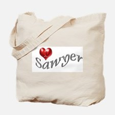 Lost - I heart Sawyer Tote Bag