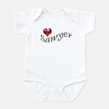 Lost - I heart Sawyer Infant Creeper