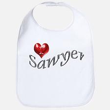 Lost - I heart Sawyer Bib