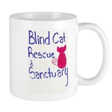 Blind Cat Rescue Mug