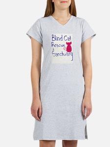 Blind Cat Rescue Women's Nightshirt