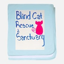 Blind Cat Rescue baby blanket