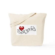Lost - I heart Sayid Tote Bag