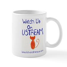 Watch us on Ustream Mug