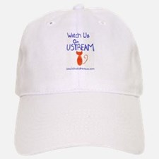Watch us on Ustream Baseball Baseball Baseball Cap
