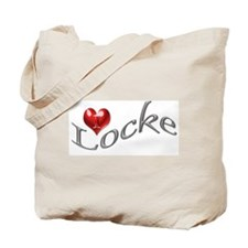 Lost - I heart Locke Tote Bag