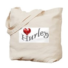 Lost - I heart Hurley Tote Bag
