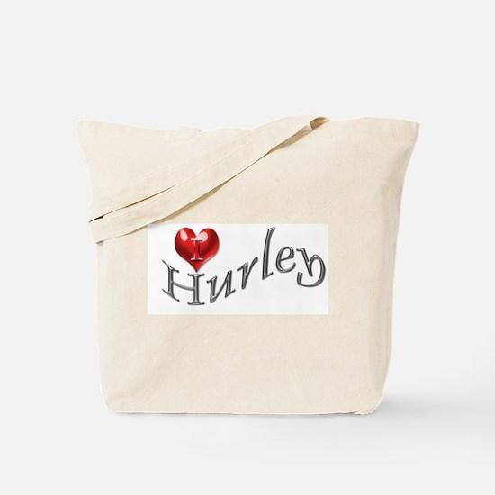 Lost - I heart Hurley Tote Bag
