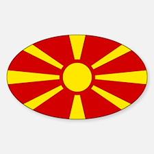 Flag of Macedonian Decal