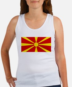 Flag of Macedonian Women's Tank Top