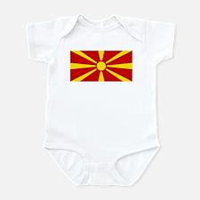 Flag of Macedonian Infant Bodysuit