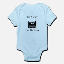 GO AWAY - Writing Infant Bodysuit
