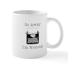 GO AWAY - Writing Mug