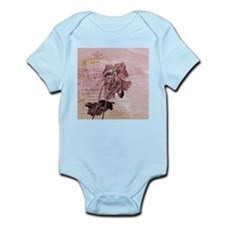 French Pink Poppy Body Suit