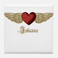 Julianne the Angel Tile Coaster