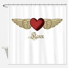 Karen the Angel Shower Curtain