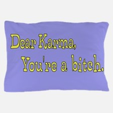 Letter to Karma Pillow Case