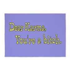 Letter to Karma 5'x7'Area Rug