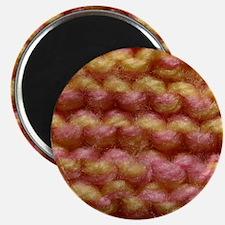Crochet Swatch Round Magnet