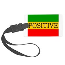 Positive Luggage Tag