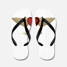Katharine the Angel Flip Flops