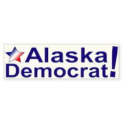 Alaska Democrat Bumper Bumper Sticker