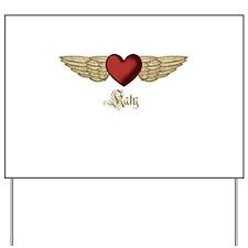 Katy the Angel Yard Sign