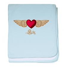 Katy the Angel baby blanket