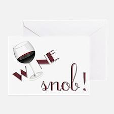 Wine Snob Greeting Cards (Pk of 10)