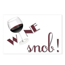 Wine Snob Postcards (Package of 8)