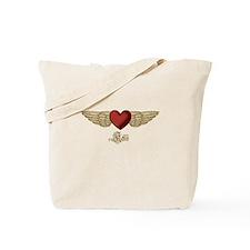 Kelli the Angel Tote Bag